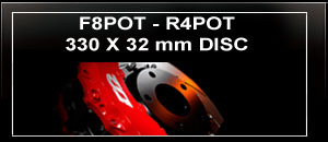 F8POT-R4POT 330mm DISC